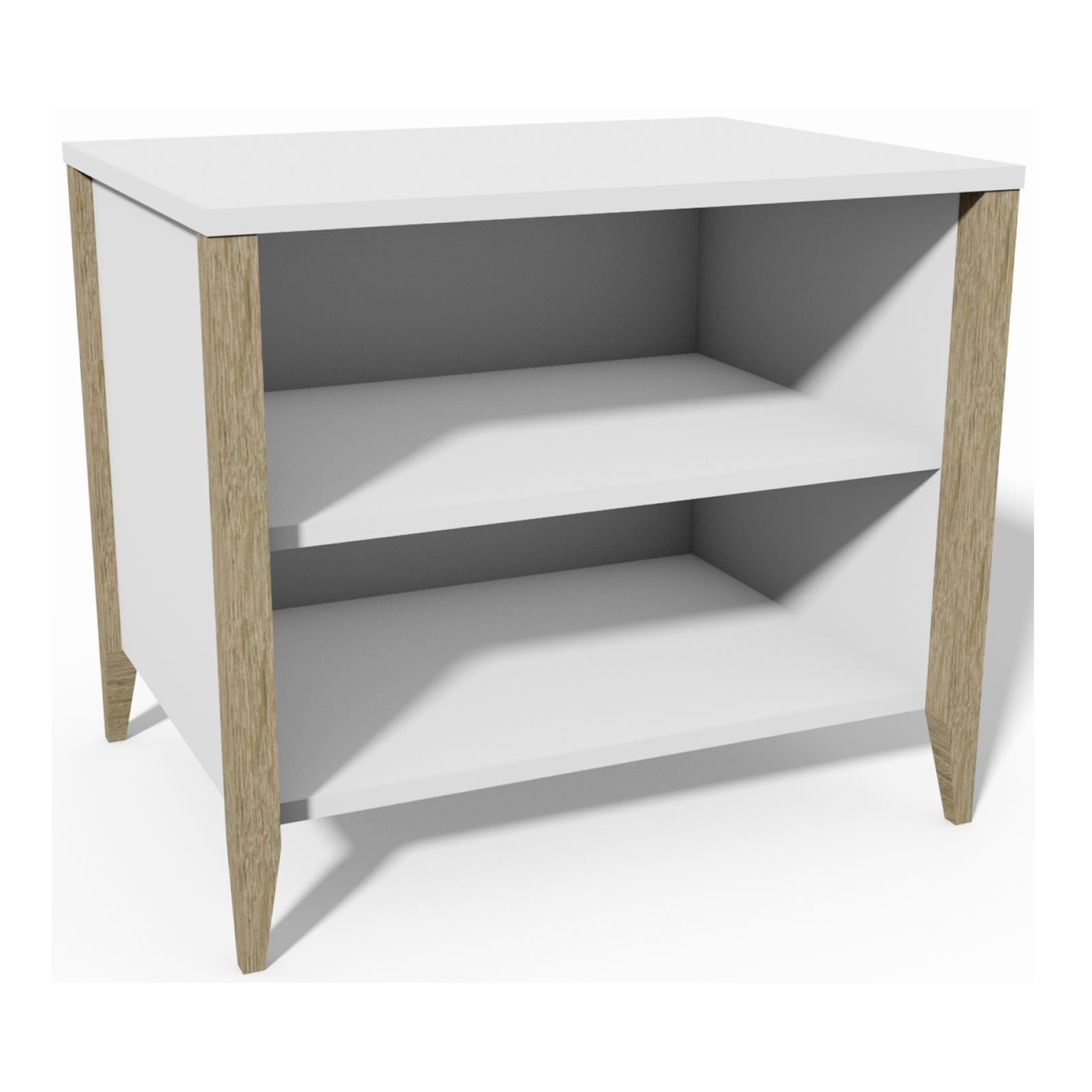 Moda Open Shelf Nightstand